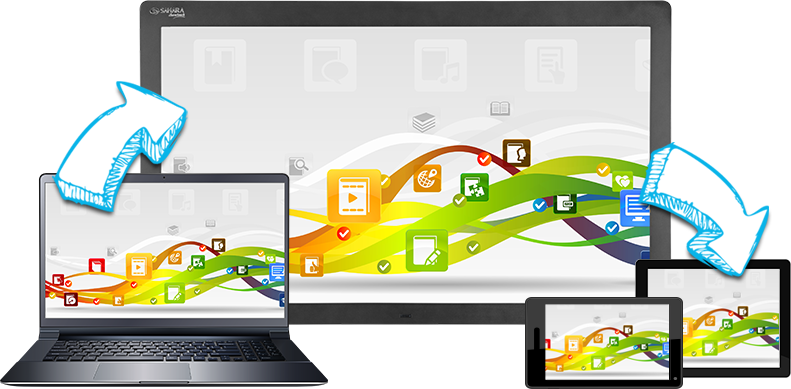 Every clevertouch comes with the clever software suite incorporating
